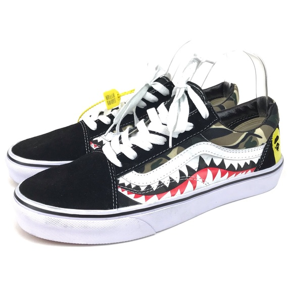 e26ff65b84 Vans x BAPE Custom Camo Sneakers. M 5be7a818e944baf89fc3c037. Other Shoes  ...